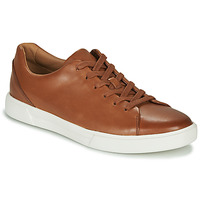 kengät Miehet Matalavartiset tennarit Clarks UN COSTA LACE Brown