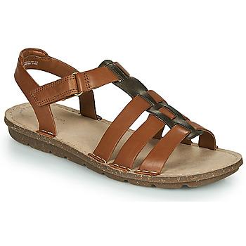 kengät Naiset Sandaalit ja avokkaat Clarks BLAKE JEWEL Kamelinruskea