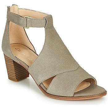 kengät Naiset Sandaalit ja avokkaat Clarks KAYLIN60 GLAD Taupe