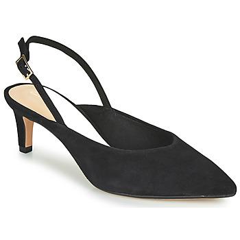 kengät Naiset Korkokengät Clarks LAINA55 SLING Black