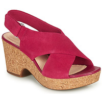 kengät Naiset Sandaalit ja avokkaat Clarks MARITSA LARA Pink