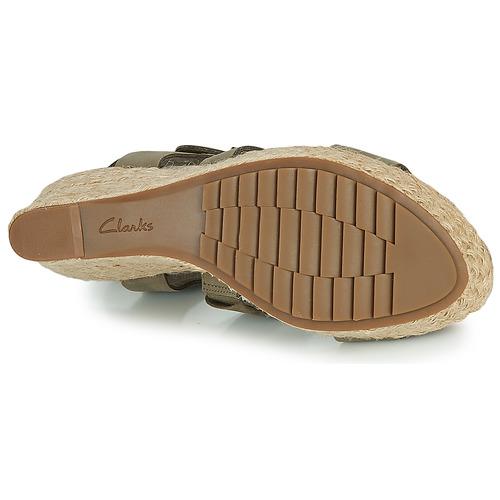 Clarks Maritsa95 Glad Kaki - Ilmainen Toimitus- Kengät Sandaalit Naiset 90