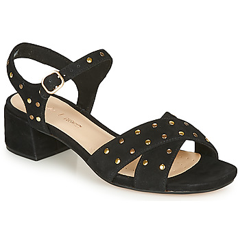 kengät Naiset Sandaalit ja avokkaat Clarks SHEER35 STRAP Black