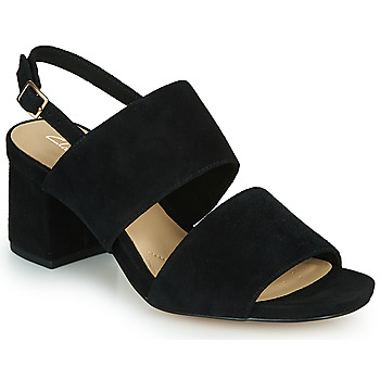 kengät Naiset Sandaalit ja avokkaat Clarks SHEER55 SLING Musta