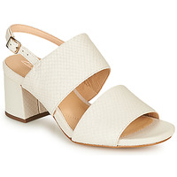 kengät Naiset Sandaalit ja avokkaat Clarks SHEER55 SLING White