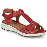 kengät Naiset Sandaalit ja avokkaat Clarks UN ADORN VIBE Red