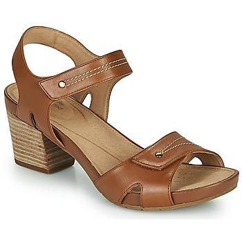 kengät Naiset Sandaalit ja avokkaat Clarks UN PALMA VIBE Kamelinruskea