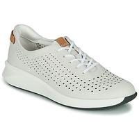 kengät Naiset Matalavartiset tennarit Clarks UN RIO TIE White