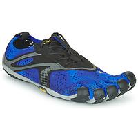 kengät Miehet Juoksukengät / Trail-kengät Vibram Fivefingers V-RUN Musta / Sininen