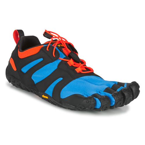 kengät Miehet Juoksukengät / Trail-kengät Vibram Fivefingers V-TRAIL 2.0 Blue / Orange