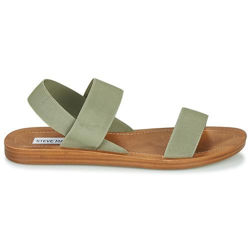 Steve Madden Roma Kaki - Ilmainen Toimitus- Kengät Sandaalit Naiset 60
