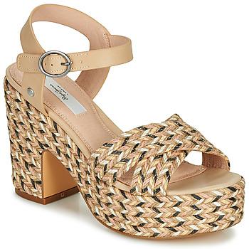 kengät Naiset Sandaalit ja avokkaat Pepe jeans BLEAN Beige