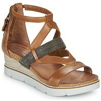 kengät Naiset Sandaalit ja avokkaat Mjus TAPASITA Camel