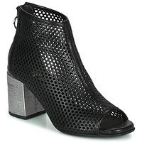 kengät Naiset Bootsit Mjus MUSIC Black