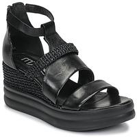 kengät Naiset Sandaalit ja avokkaat Mjus BELLANERA Musta