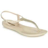 kengät Naiset Sandaalit ja avokkaat Ipanema CLASS GLAM III Beige / Kulta