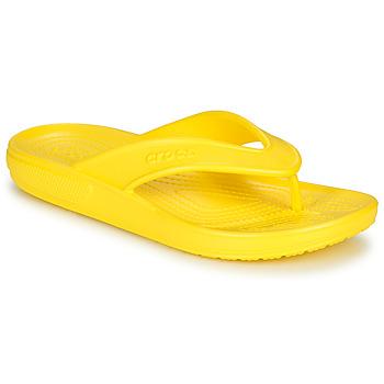 kengät Varvassandaalit Crocs CLASSIC II FLIP Keltainen