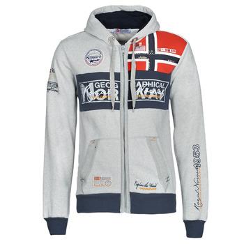 vaatteet Miehet Svetari Geographical Norway FLYER Harmaa