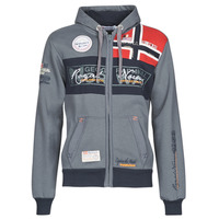 vaatteet Miehet Svetari Geographical Norway FLYER Grey / Fonce