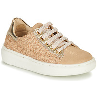 kengät Tytöt Matalavartiset tennarit Shoo Pom FLASH ZIP LACE Beige