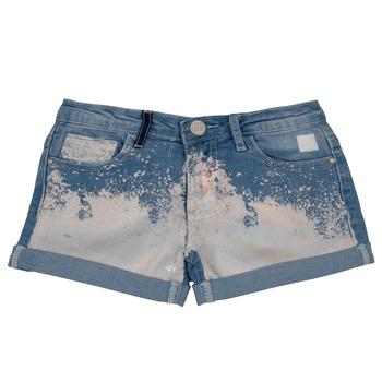 vaatteet Tytöt Shortsit / Bermuda-shortsit Desigual JORBA Blue