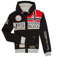 vaatteet Pojat Svetari Geographical Norway FLYER Black