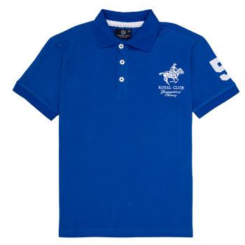 vaatteet Pojat Lyhythihainen poolopaita Geographical Norway KAMPAI Blue