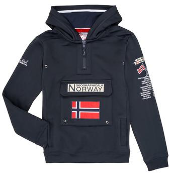 vaatteet Pojat Svetari Geographical Norway GYMCLASS Laivastonsininen