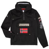 vaatteet Pojat Svetari Geographical Norway GYMCLASS Black