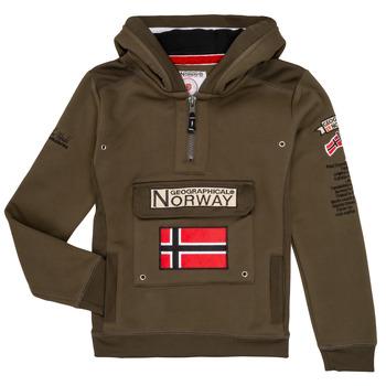 vaatteet Pojat Svetari Geographical Norway GYMCLASS Kaki