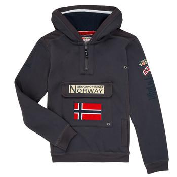 vaatteet Pojat Svetari Geographical Norway GYMCLASS Grey