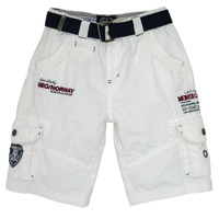vaatteet Pojat Shortsit / Bermuda-shortsit Geographical Norway POUDRE White