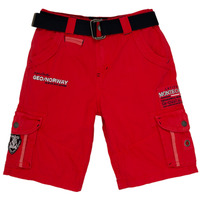 vaatteet Pojat Shortsit / Bermuda-shortsit Geographical Norway POUDRE Red