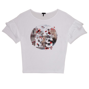 vaatteet Tytöt Lyhythihainen t-paita Ikks DIBILIOU White