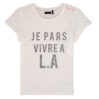 vaatteet Tytöt Lyhythihainen t-paita Ikks DARRIAL White