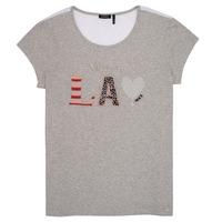 vaatteet Tytöt Lyhythihainen t-paita Ikks ZOKO Grey