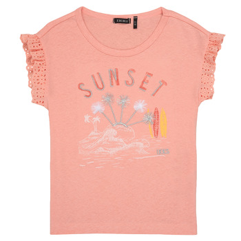 vaatteet Tytöt Lyhythihainen t-paita Ikks POLIAK Orange