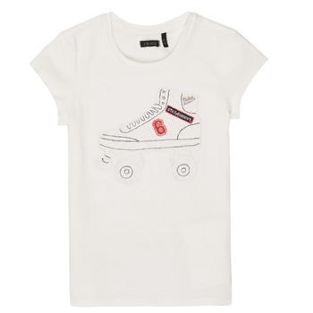 vaatteet Tytöt Lyhythihainen t-paita Ikks NADANA White