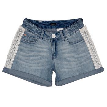 vaatteet Tytöt Shortsit / Bermuda-shortsit Ikks ISAHA Blue