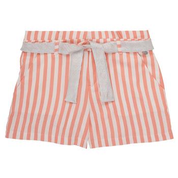 vaatteet Tytöt Shortsit / Bermuda-shortsit Ikks BADISSIO Orange