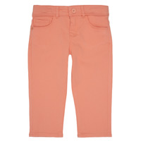 vaatteet Tytöt 5-taskuiset housut Ikks CARLOTTA Orange