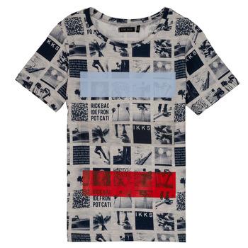 vaatteet Pojat Lyhythihainen t-paita Ikks YVES Beige