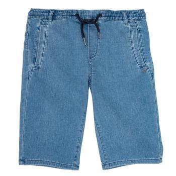vaatteet Pojat Shortsit / Bermuda-shortsit Ikks PAGALI Sininen
