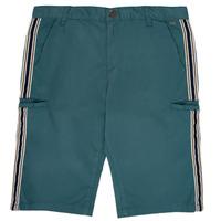 vaatteet Pojat Shortsit / Bermuda-shortsit Ikks MANUELA Blue / Green