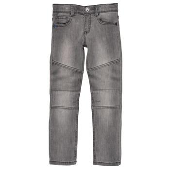 vaatteet Pojat Slim-farkut Ikks GOELLON Grey
