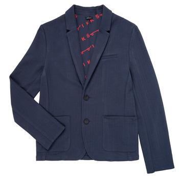 vaatteet Pojat Takit / Bleiserit Ikks NARIA Laivastonsininen