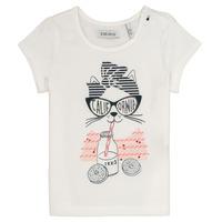 vaatteet Tytöt Lyhythihainen t-paita Ikks MEOLIA White