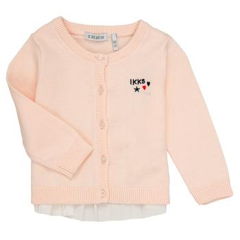 vaatteet Tytöt Neuleet / Villatakit Ikks ADIL Pink