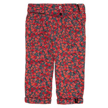vaatteet Tytöt Legginsit Ikks MARGA Grey / Red