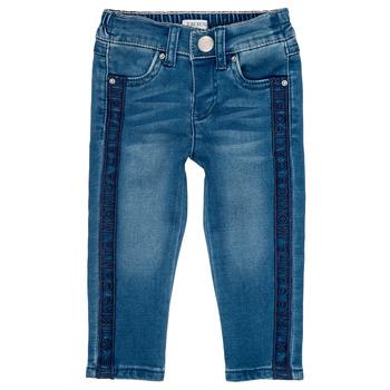 vaatteet Tytöt Slim-farkut Ikks LUISIN Sininen